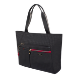 Tote Bag - Clover Two Ways Tote Angled [Black]