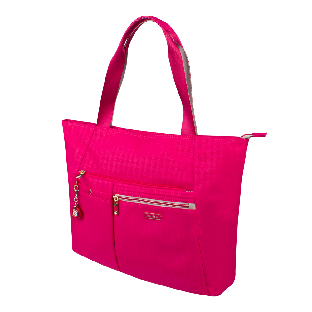 Tote Bag - Clover Two Ways Tote Angled [Carnival Red]