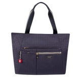 Tote Bag - Clover Two Ways Tote Front Night Blue
