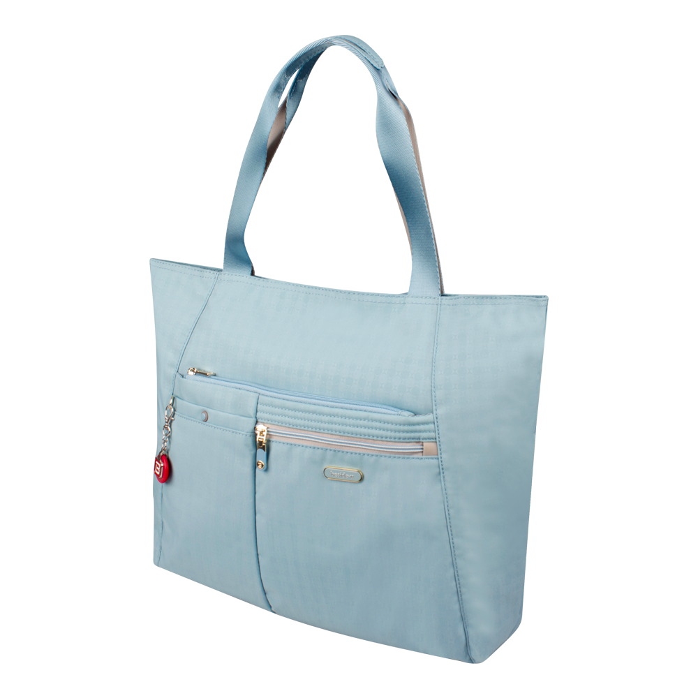 Tote Bag - Clover Two Ways Tote Angled [Pool Blue]