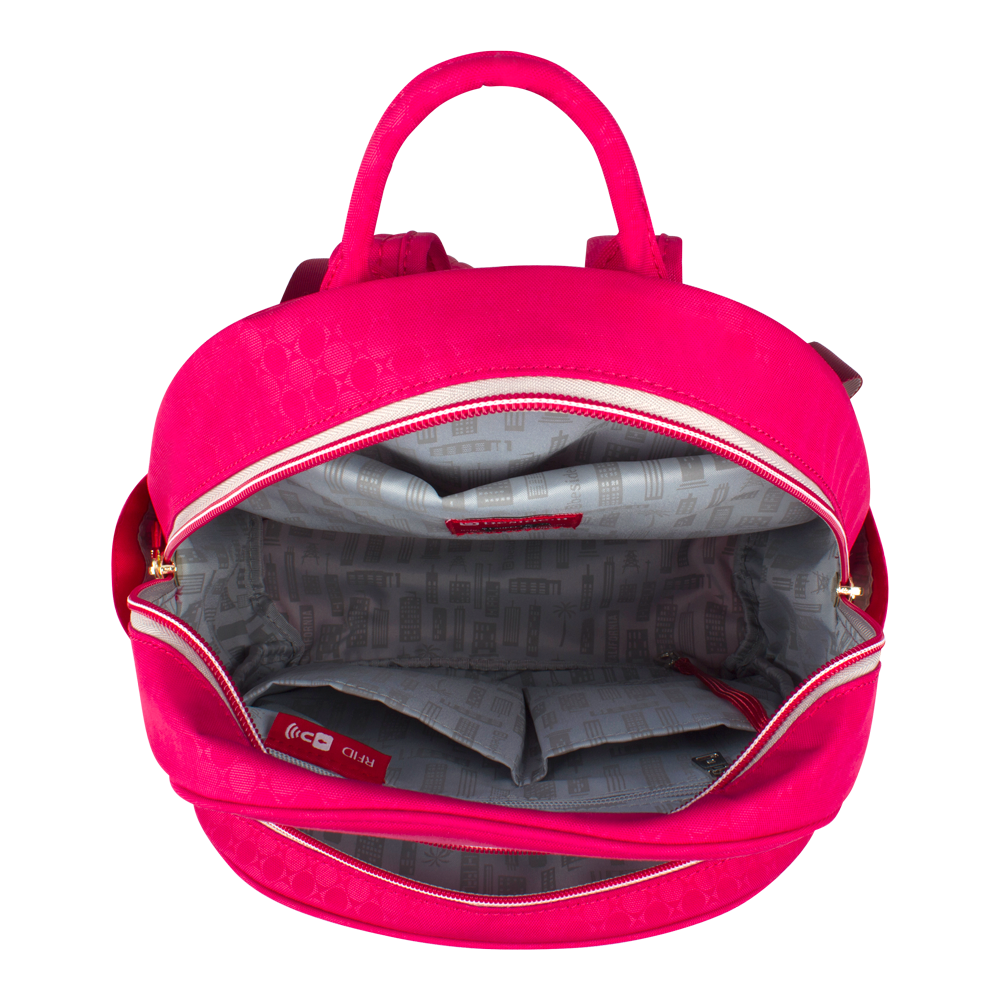 Backpack - Versailles F Backpack Inside Main Carnival Red