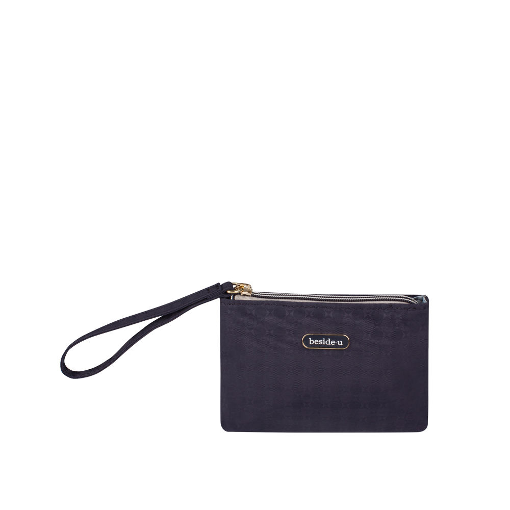 Cosmetic Pouch - Temescal Cosmetic Pouch Front Night Blue