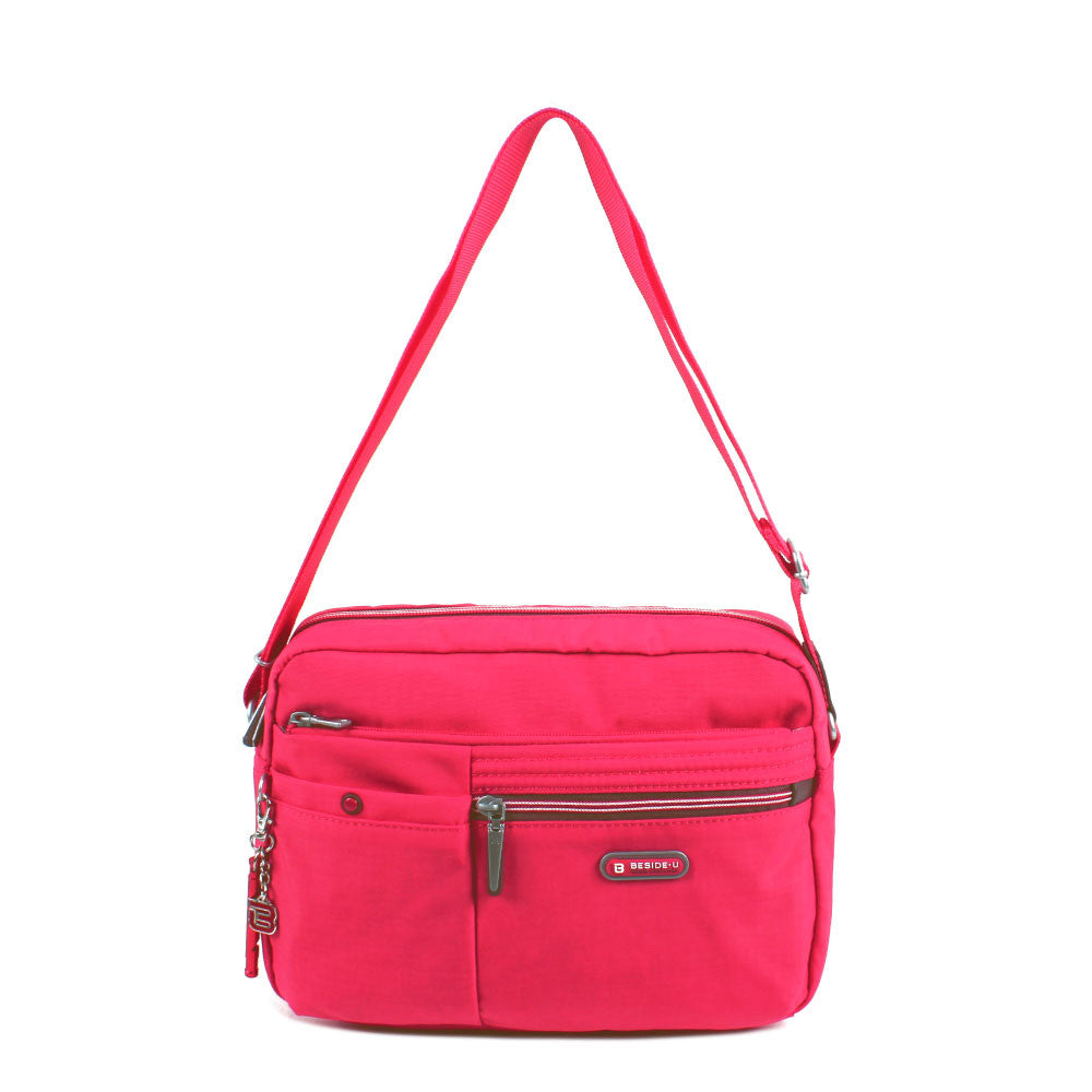 Crossbody Bag - Provence Crossbody Bag Front [Rory Red]