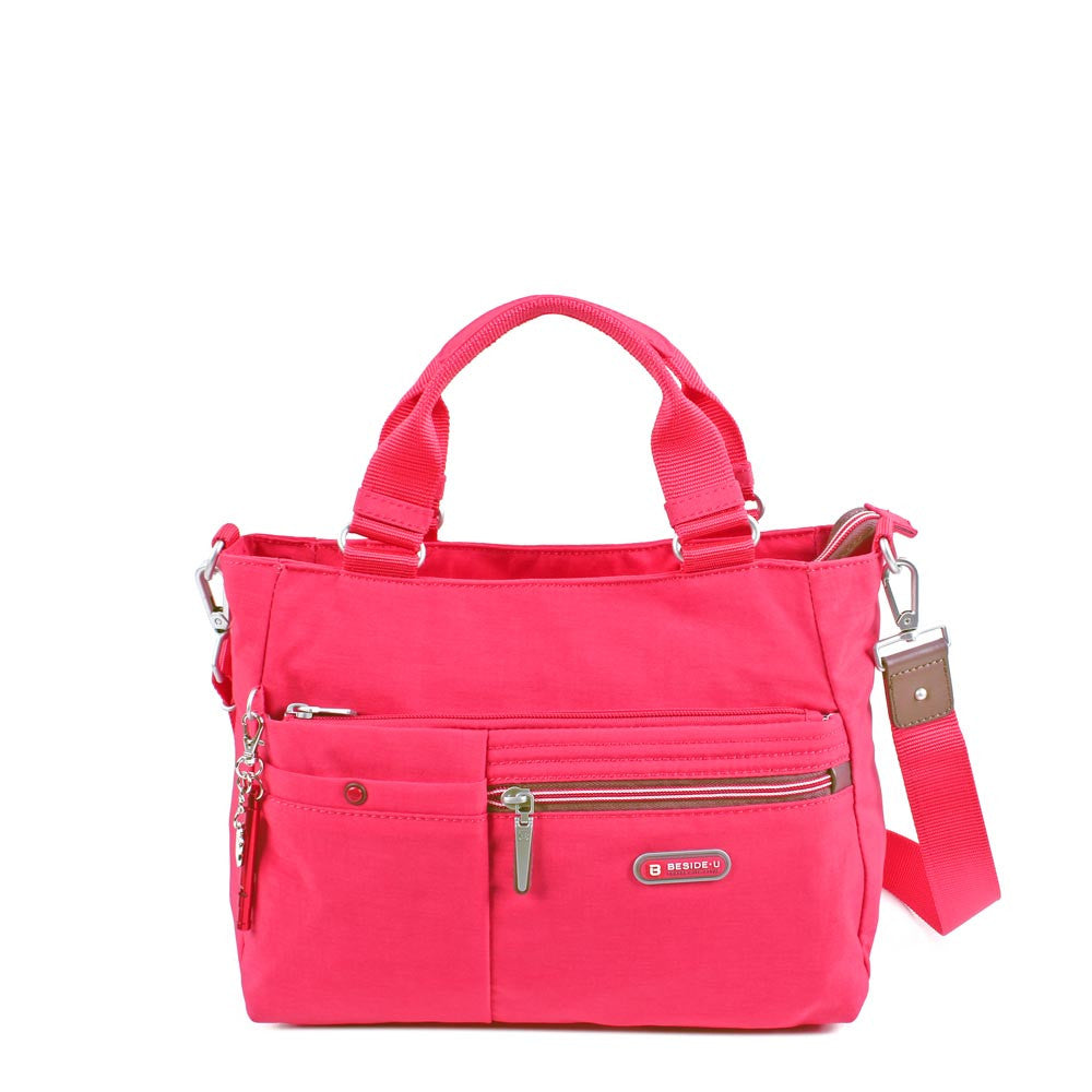 Satchel Handbag - Kenora Two Ways Handbag Front [Rory Red]