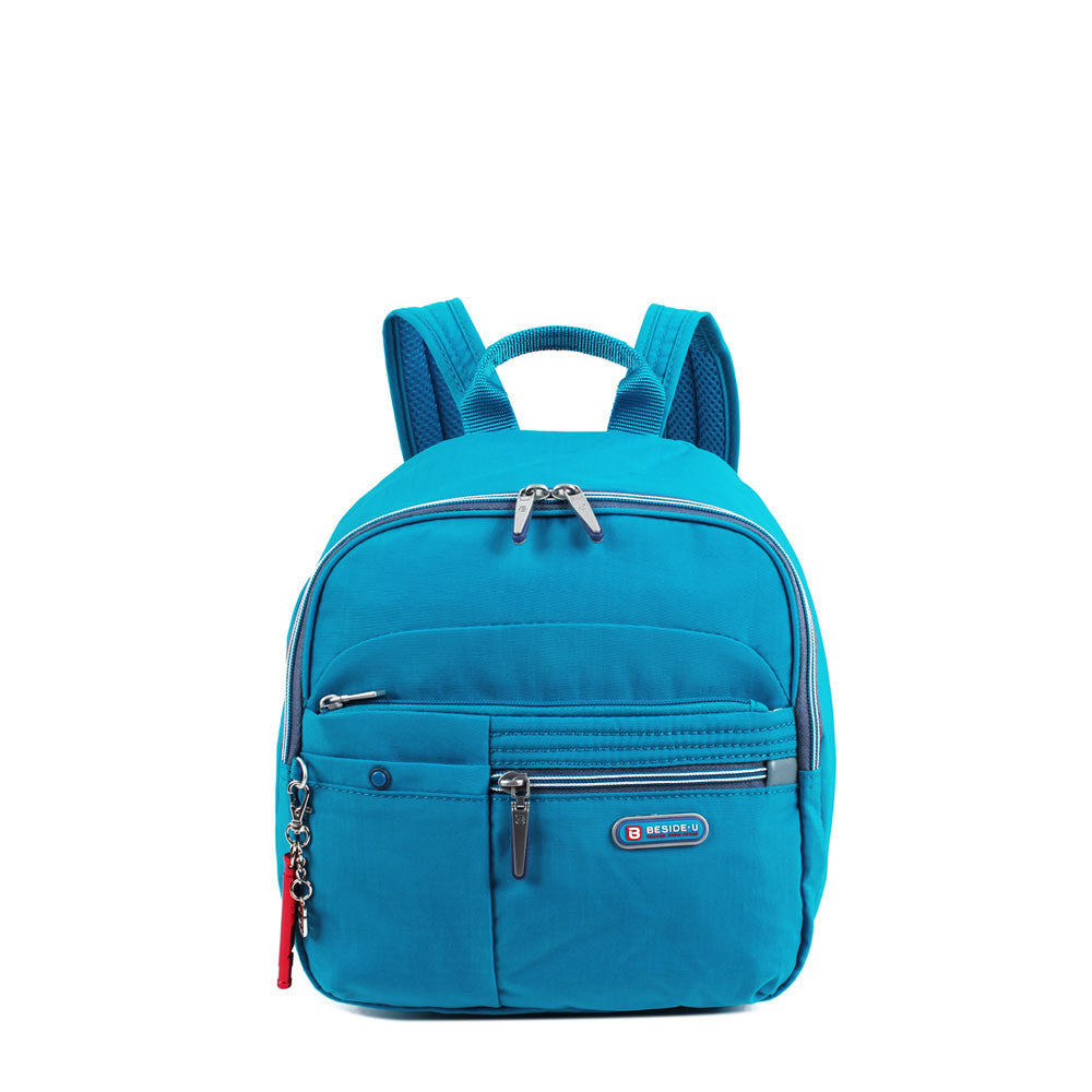 Backpack - Denis Two-Tone Leisure Travel Backpack Front [Blue Jewel]