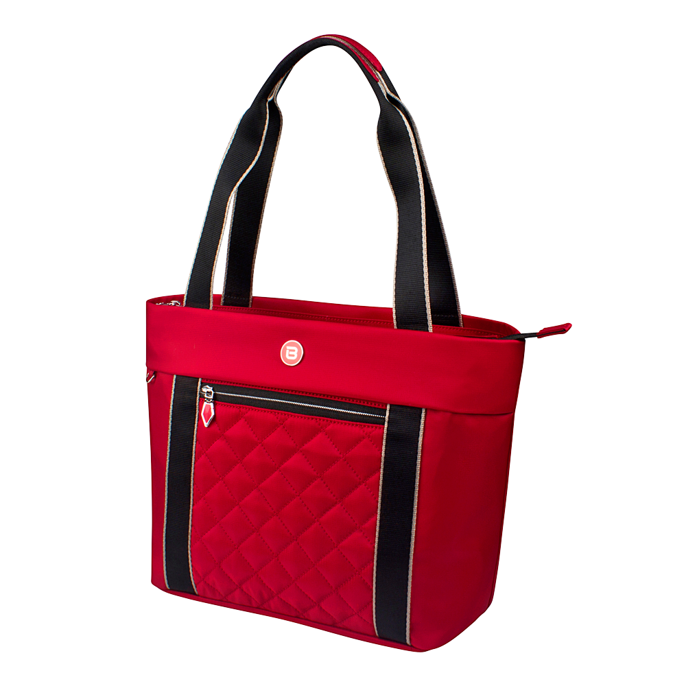 Tote Bag - Eddy Quilted Tote Angled [Biking Red]