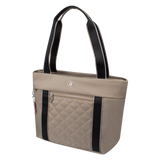 Tote Bag - Eddy Quilted Tote Angled [Cinder Gray]