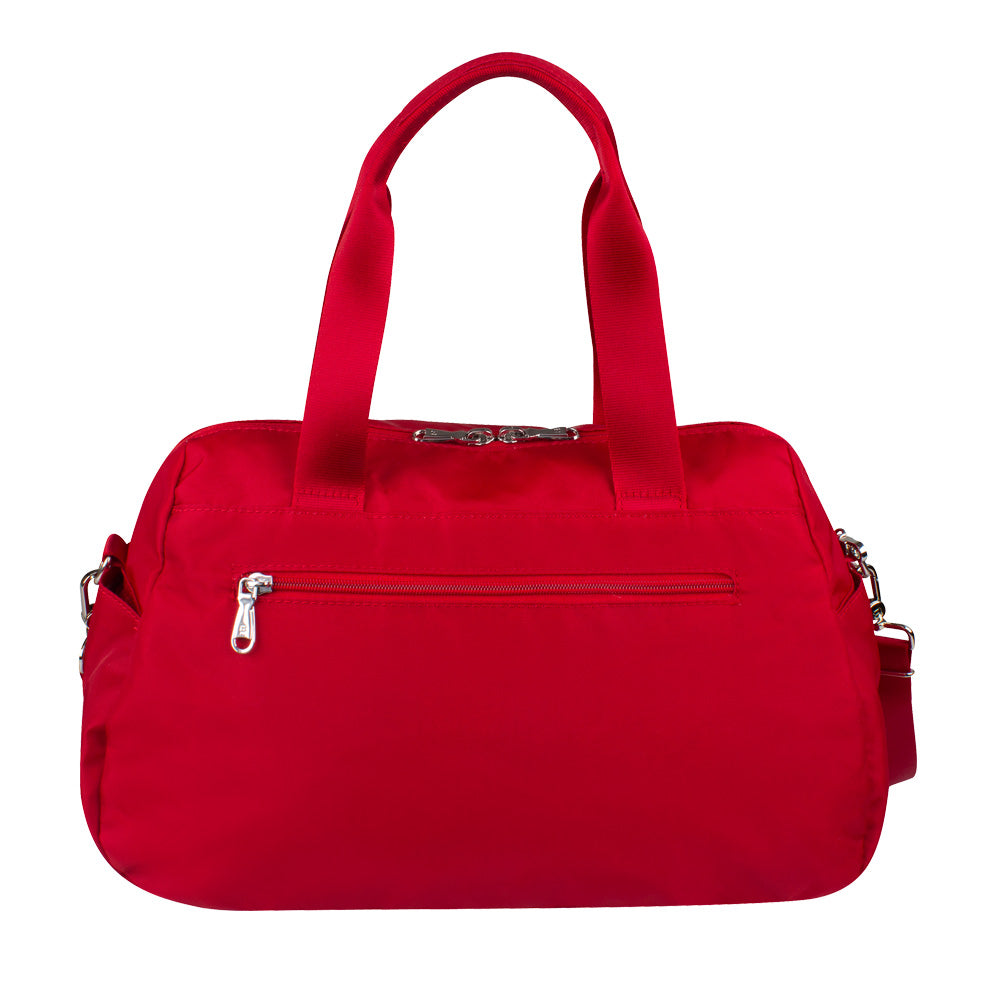 Satchel Handbag - Toluca Duffel Satchel Bag Back City Red