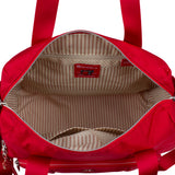 Satchel Handbag - Toluca Duffel Satchel Bag Inside City Red