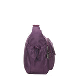 Rachelle Wineberry Purple Embroidery Multi-Pocket Crossbody Bag Side [Wineberry Purple]