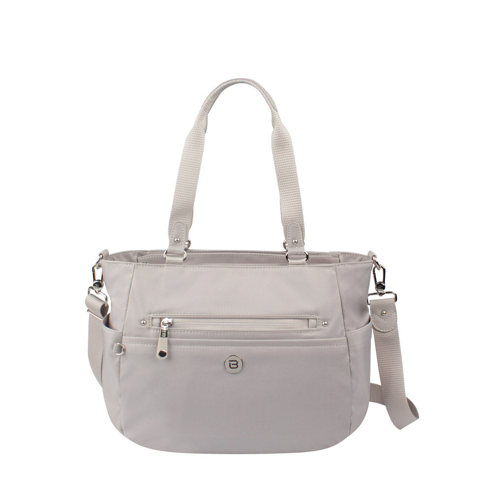 Tote Bag - Potrero Two Ways Tote Front Soft Gray