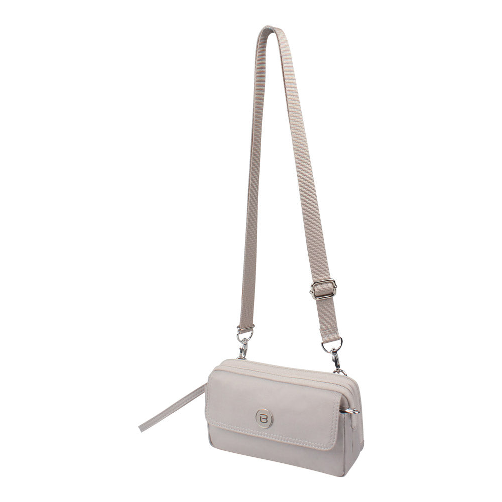Crossbody Bag - Brannan Crossbody Bag Angled [Soft Gray]