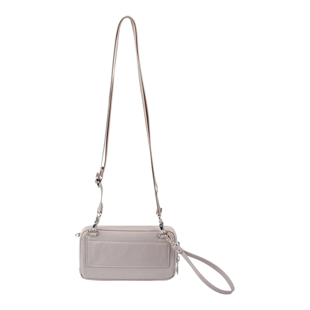 Crossbody Bag - Brannan Crossbody Bag Back Soft Gray