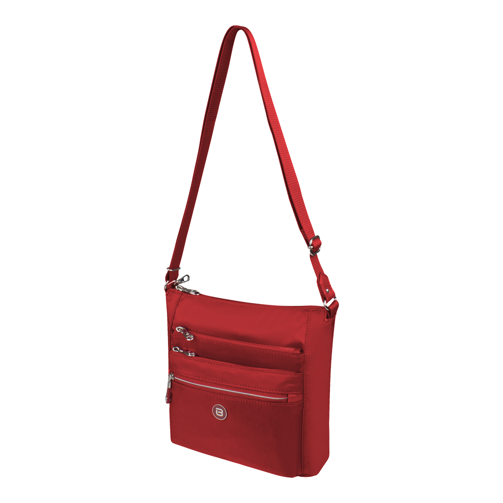 Crossbody Bag - Buena Crossbody Bag Angled [Biking Red]