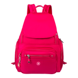 Backpack - Edgehill Medium Backpack Front Raspberry Soda