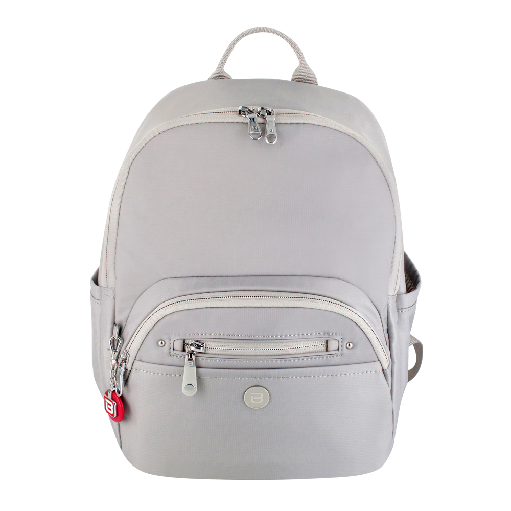 Backpack - Ferry Medium Backpack Front Soft Gray