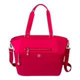 Tote Bag - Potrero Two Ways Tote Front Raspberry Soda
