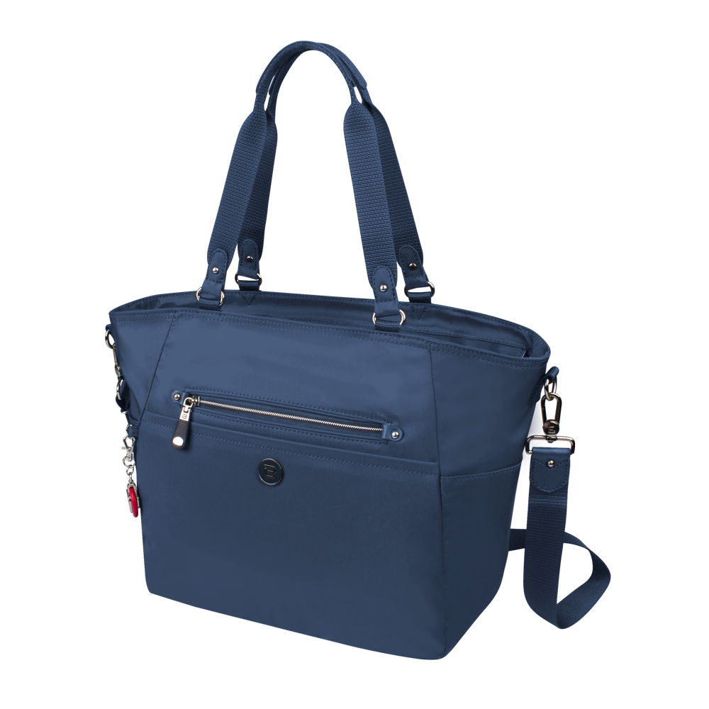 Tote Bag - Potrero Two Ways Tote Angled [Moonlight Blue]