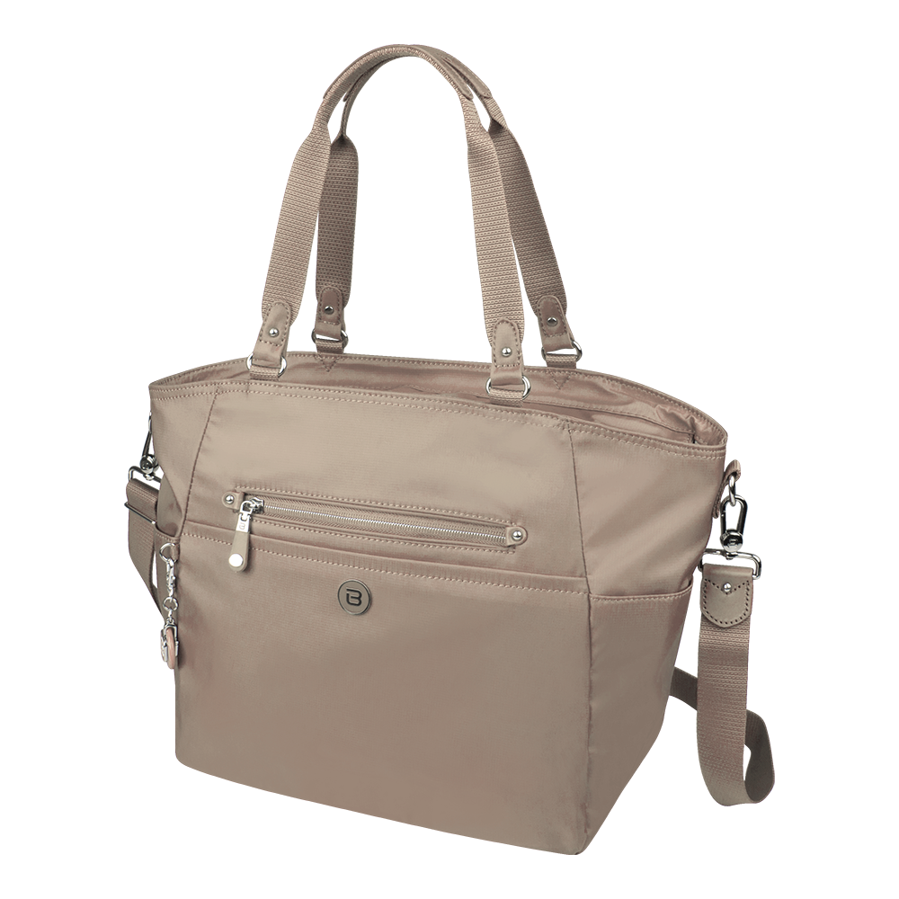 Tote Bag - Potrero Two Ways Tote Angled [Cinder Gray]