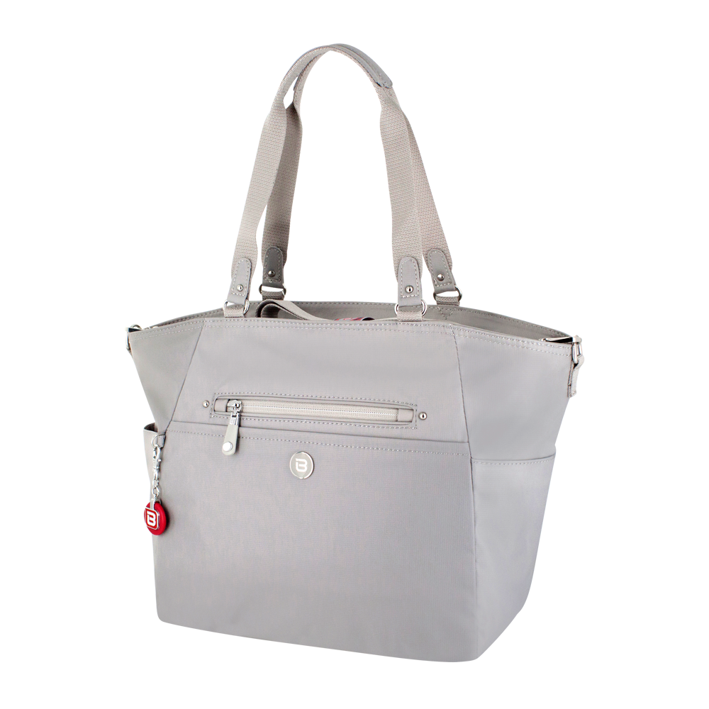 Tote Bag - Potrero Two Ways Tote Angled [Soft Gray]