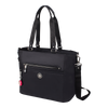Satchel Handbag - Glen Satchel Bag Angled [Black]