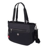 Tote Bag - Potrero Two Ways Tote Angled [Black]