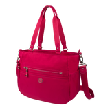 Tote Bag - Potrero Two Ways Tote Angled [Raspberry Soda]