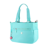 Tote Bag - Potrero Two Ways Tote Angled [New Turquoise]