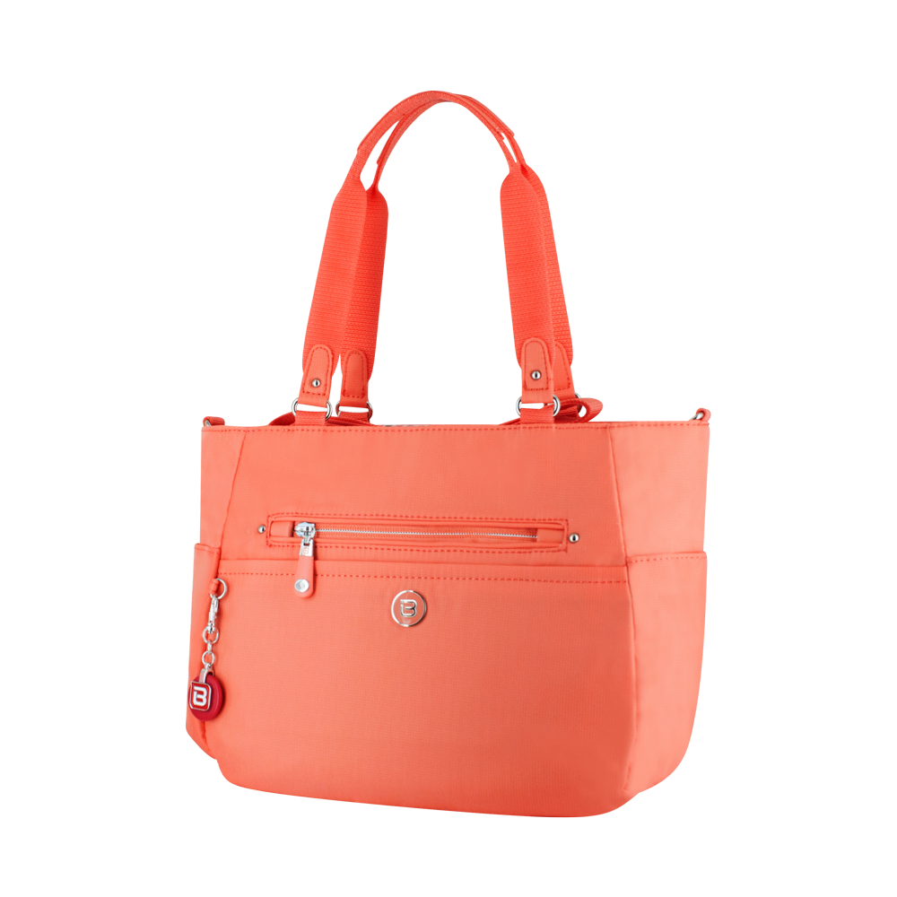 Tote Bag - Potrero Two Ways Tote Angled [Proud Orange]