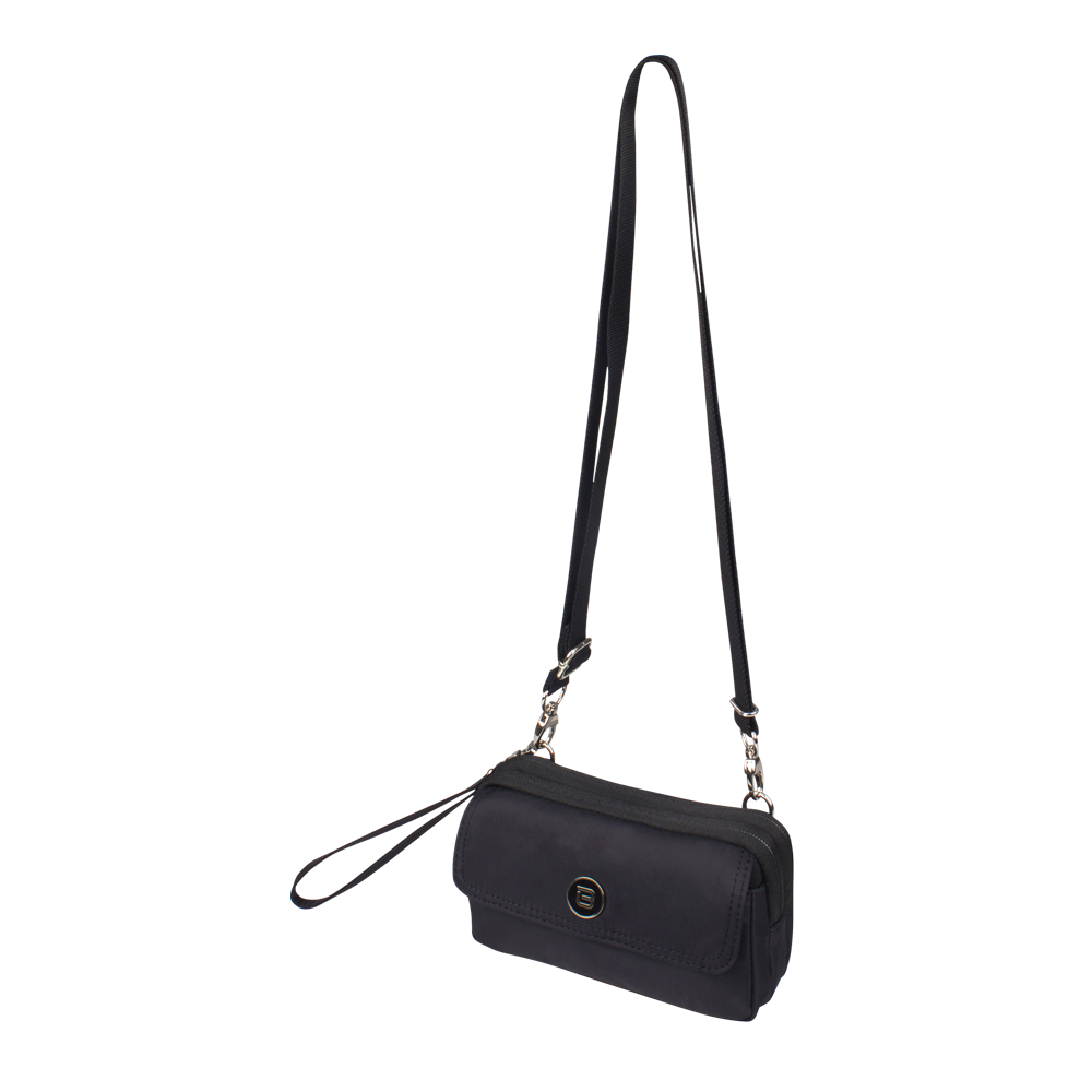 Crossbody Bag - Brannan Crossbody Bag Angled [Black]
