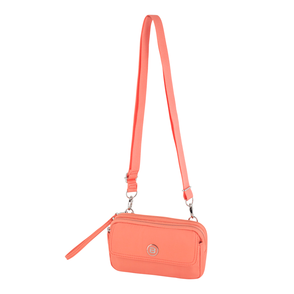 Crossbody Bag - Brannan Crossbody Bag Angled [Proud Orange]