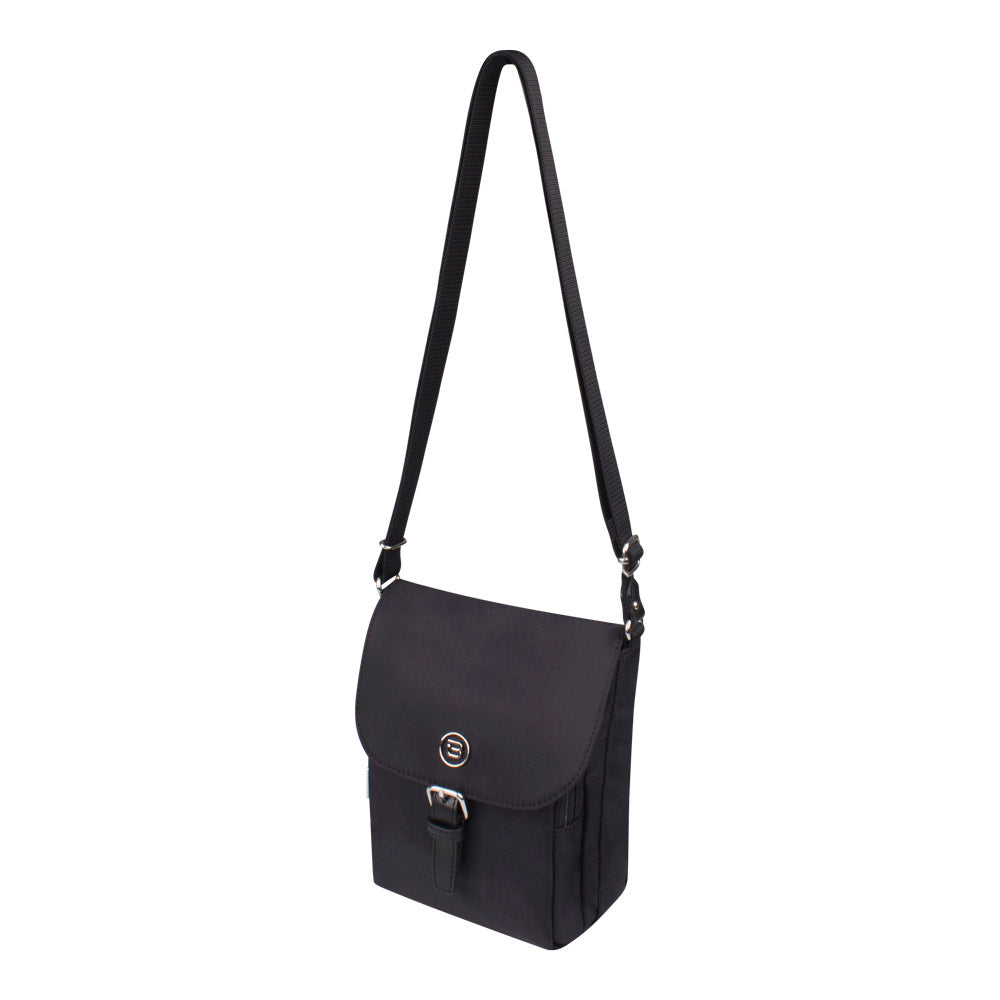 Crossbody Bag - Natoma Crossbody Bag Angled [Black]