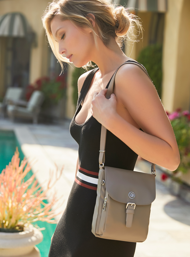 Crossbody Bag - Natoma Crossbody Bag Model Cinder Gray