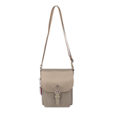 Crossbody Bag - Natoma Crossbody Bag Front Cinder Gray