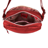 Crossbody Bag - Jules Crossbody Bag Inside Biking Red