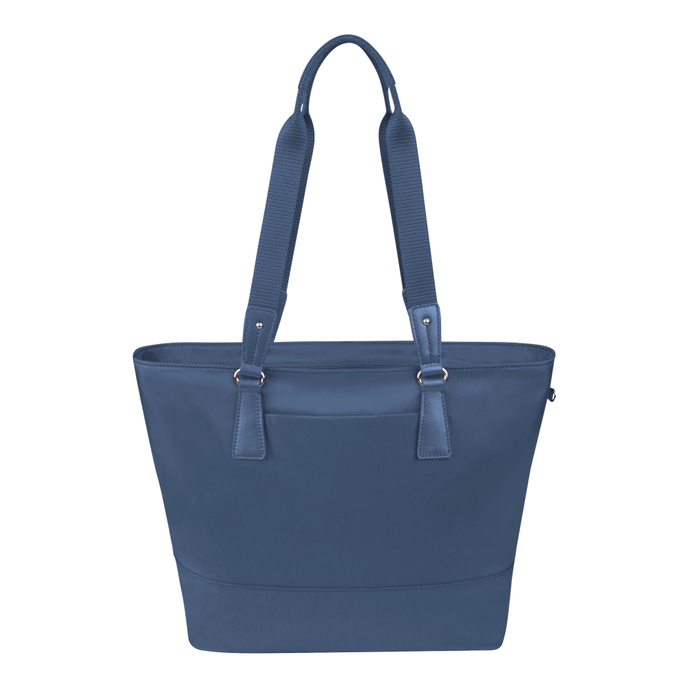 Tote Bag - Rossmore Printed Tote Back Moonlight Blue