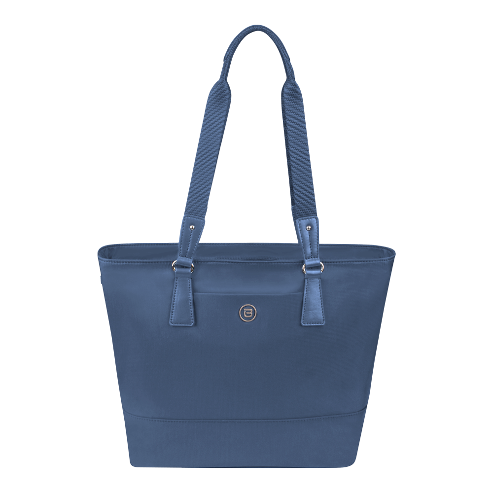 Tote Bag - Rossmore Printed Tote Front Moonlight Blue