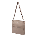 Crossbody Bag - Amado Crossbody Bag Angled [Cinder Gray]
