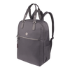 Backpack - Mara Tall Backpack Angled [Footstep Grey]