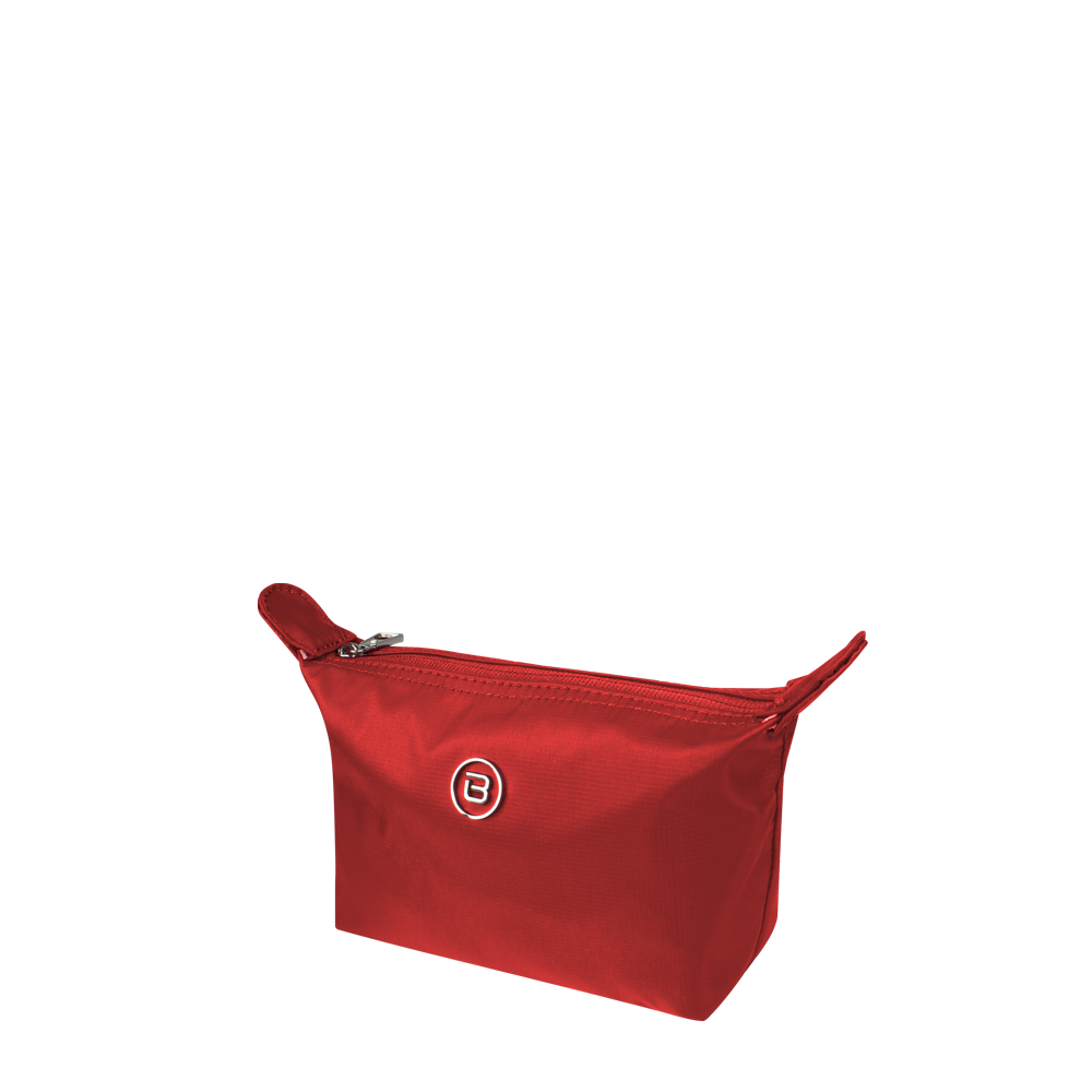 Cosmetic Pouch - Laskie Cosmetic Pouch Angled [Biking Red]