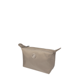 Cosmetic Pouch - Laskie Cosmetic Pouch Angled [Cinder Gray]
