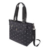 Satchel Handbag - Chica Printed Satchel Bag Angled [Star Black]