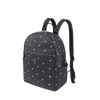 Backpack - Skylar Printed Backpack Angled [Star Black]