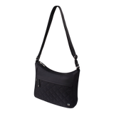 Crossbody Bag - Fulton Crossbody Bag Angled [Black]