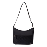 Crossbody Bag - Fulton Crossbody Bag Front Black