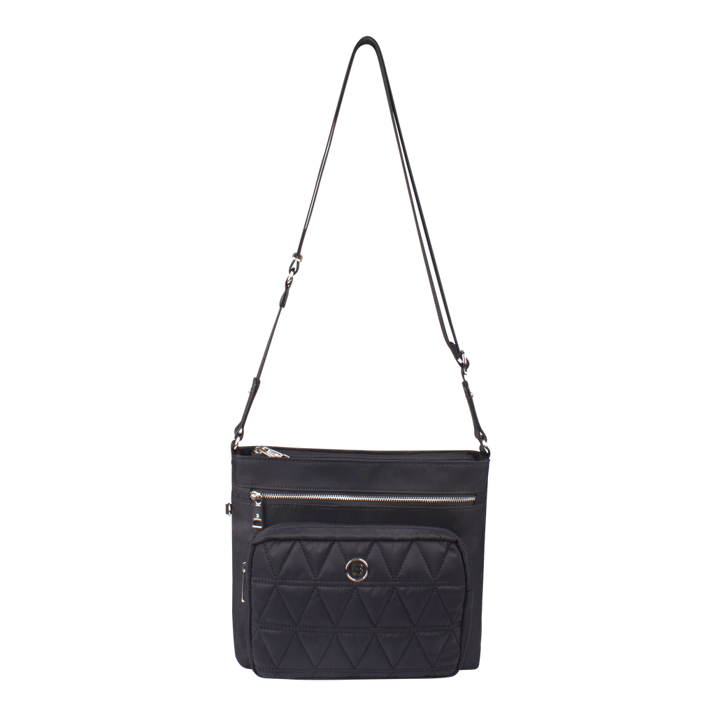 Crossbody Bag - Andi Crossbody Bag Front Black