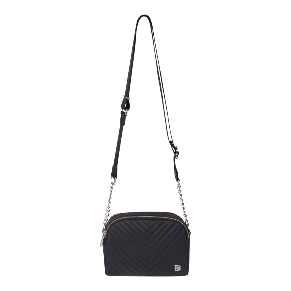 Crossbody Bag - Valdez Crossbody Bag Front Black