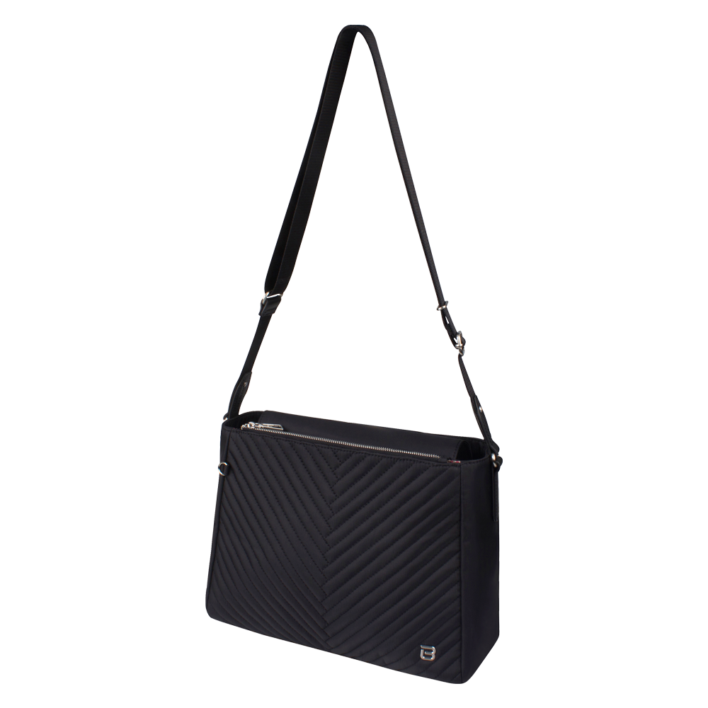 Crossbody Bag - Tomey Crossbody Bag Angled [Black]