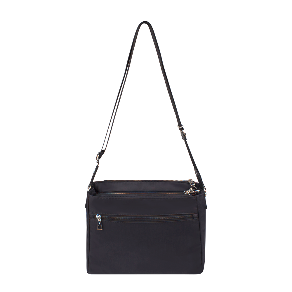 Crossbody Bag - Tomey Crossbody Bag Back Black