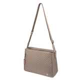 Crossbody Bag - Tomey Crossbody Bag Angled [Cinder Gray]